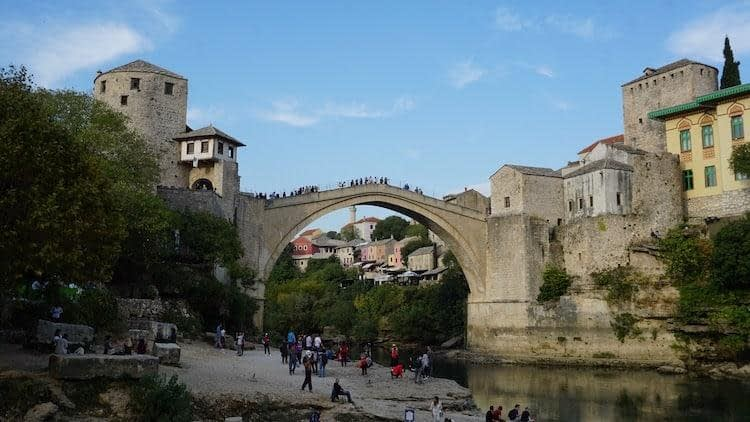 Mostar Bridge - Croatia Road-Trip