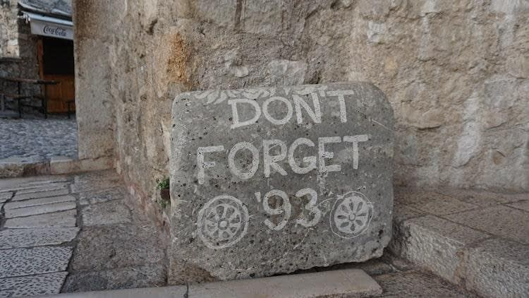 Don't forget Mostar