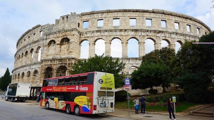 Croatia Road Trip Day 1 - Pula