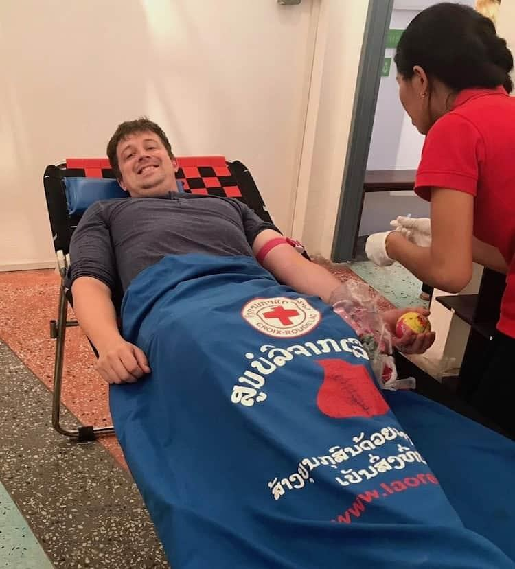 Things To Do in Luang Prabang - Give Blood